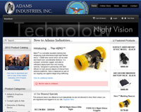 Adams Industries Night Vision Equipment