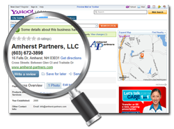Amherst Partners, LLC - www.amherst-partners.com - Local Search Marketing